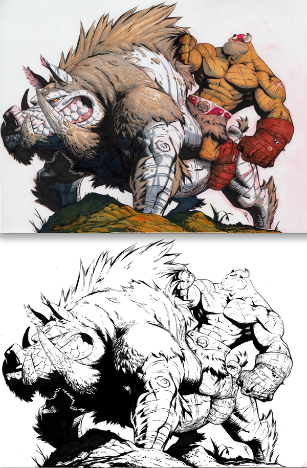 BattleBoar Balto 2shot by joverine