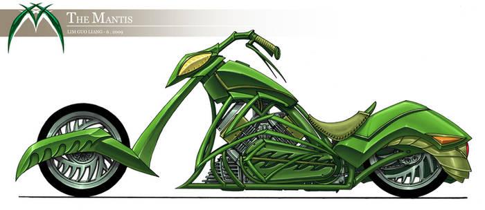 Mantis bike design