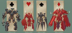 Four Aces of Siege