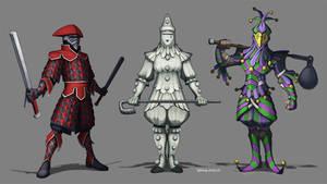 Clown Knights
