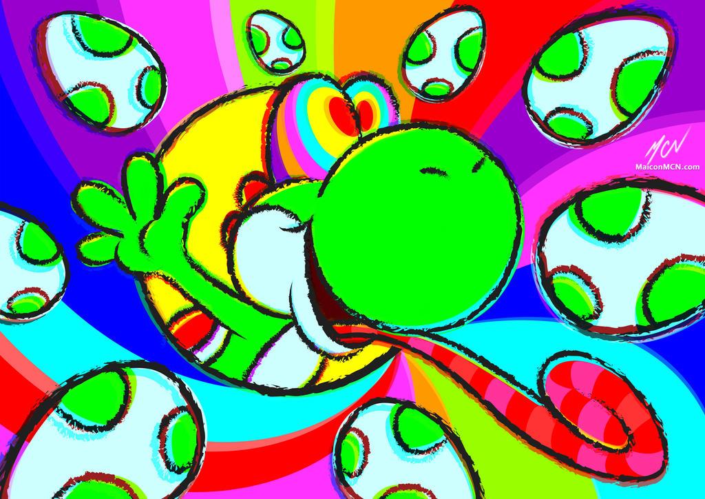 Cool Yoshi by maiconmcn