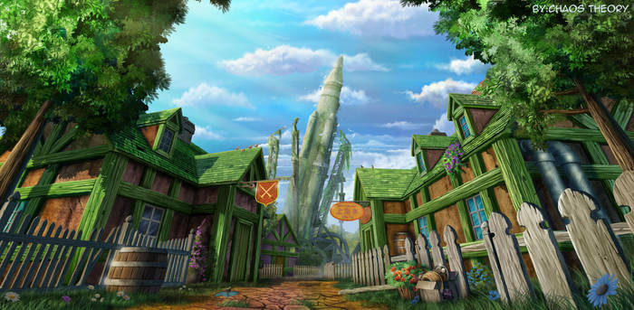 Rocket Town - Final Fantasy 7