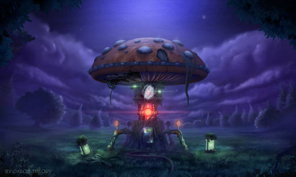 Cyber Mushroom
