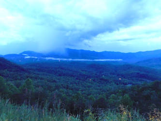 Foothills Parkway by deathbysunset