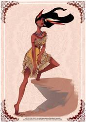 Pocahontas by AzureOcean