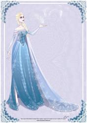La Reine des neiges by AzureOcean