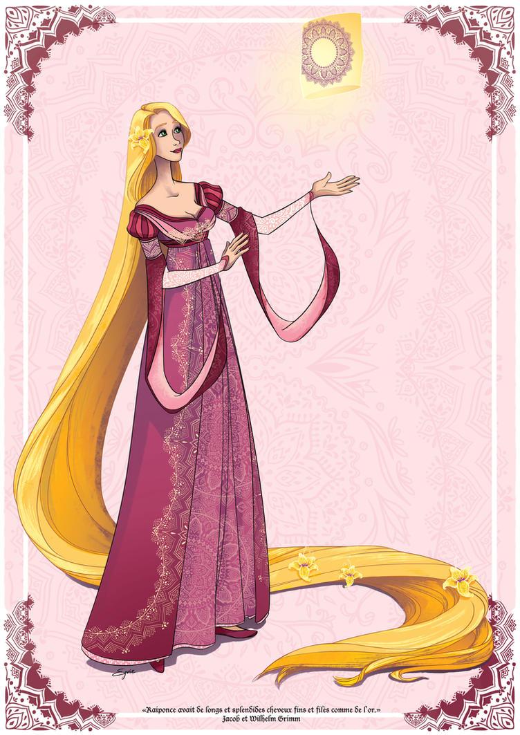 Rapunzel by AzureOcean