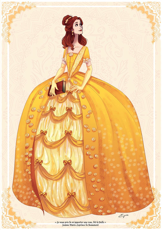 Belle by AzureOcean