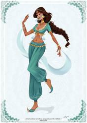 Jasmine by AzureOcean