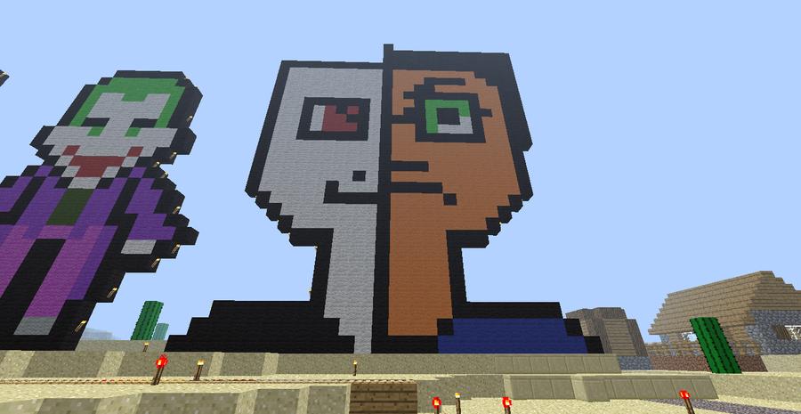 Voldemort/Harry Potter In Minecraft Pixel Art By Tlc27 ...