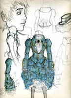 sketch book peek: COUTURE by Eyesiq