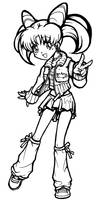 PSM Chibiusa in style - Inked