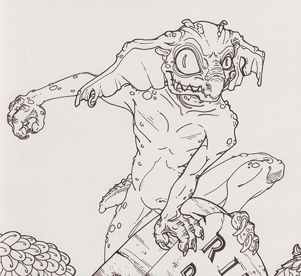 Day 3-Goblin by wylde