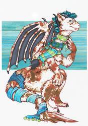 Dragon Scarves by wylde