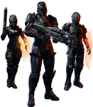 Mass Effect 3: Earth - The Militants