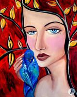 weak branches-broken bird. by art-of-jaymee
