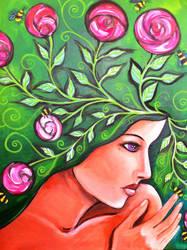 Mindful Gardener by art-of-jaymee