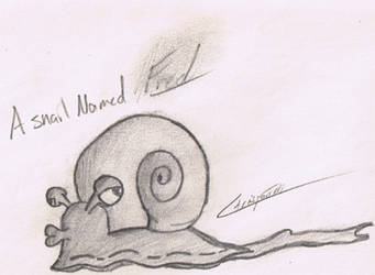 fred the snail by SubliminalXIII