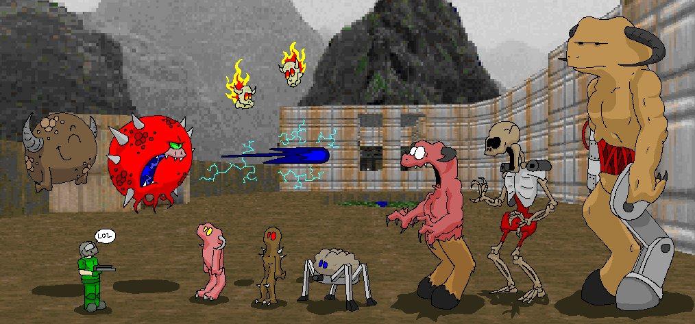 Más fanarts de Doom 3ce3ba12db9361be4a5c67467228ed63