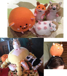 Dark Devas of Destruction Plushies