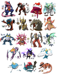 Pokemon Fusion - Tumblr Dump 43