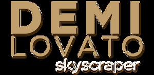 Demi Lovato Skyscraper PNG