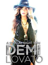 Demi Lovato Tour Poster by Disneystarstodo