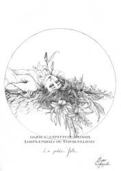 Loups-Garous de Thiercelieux - la petite fille by Miyou-illustration
