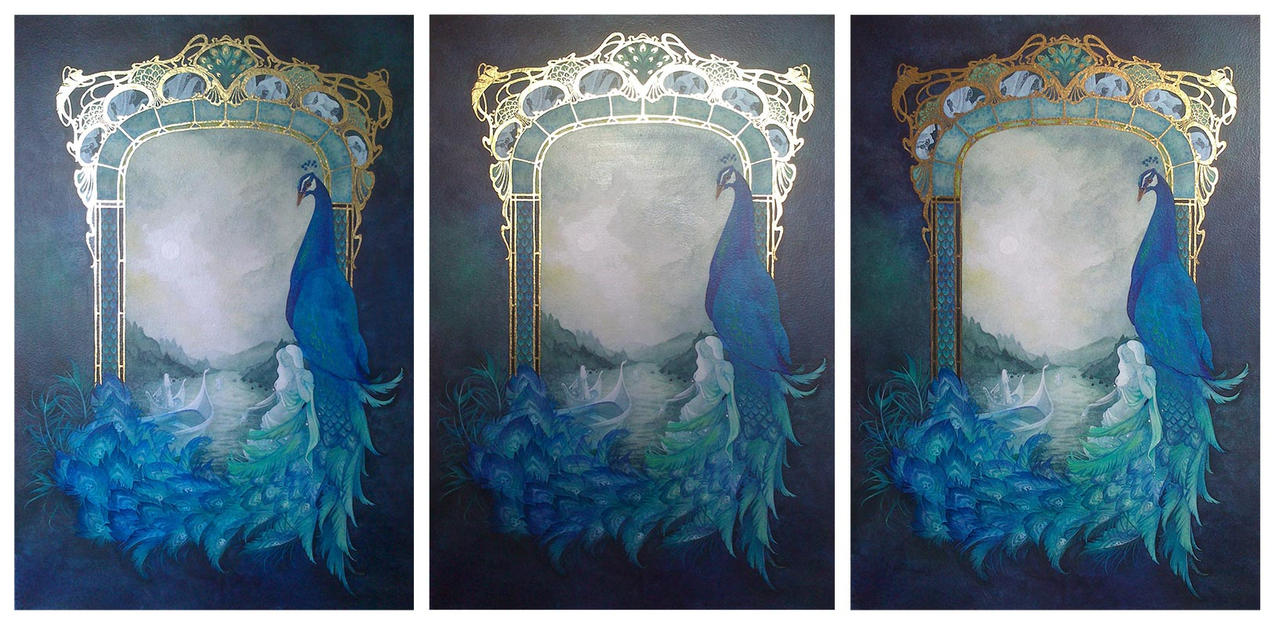 The Gate - Tribute to Alcest (different lights) by Miyou-illustration