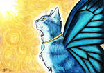 Blue Mystic ACEO