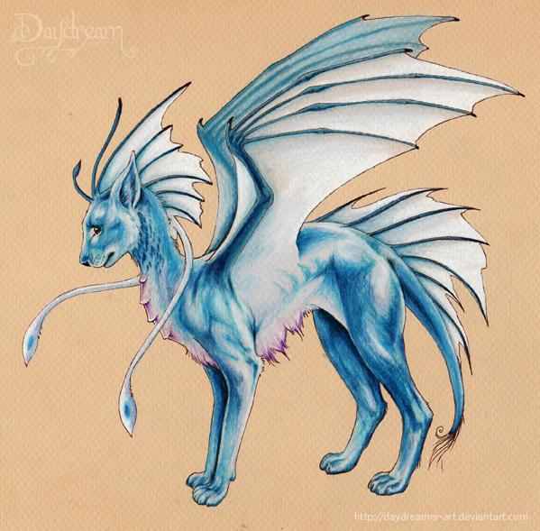 Blue Dragon Cat