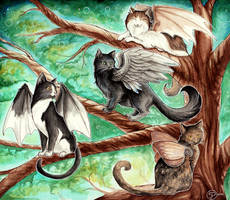 The Gathering Tree by starwoodarts