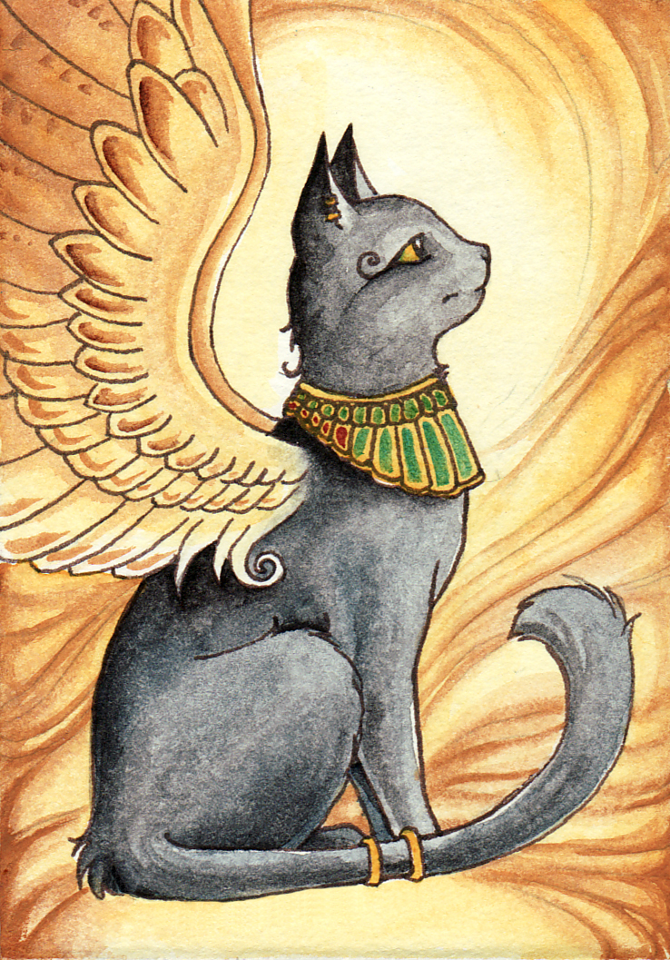 Pin by Shawn Coffey on fairy Egyptian cat goddess