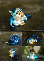 Baby Griffin Sculpture by starwoodarts