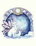 Moon Phase Cat