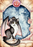 Dragon Winged Cat