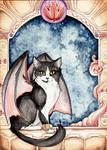 Dragon Winged Cat