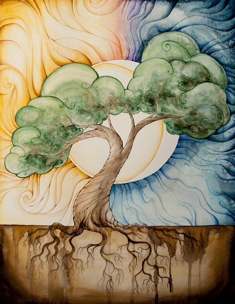 Tree of Dreams by starwoodarts