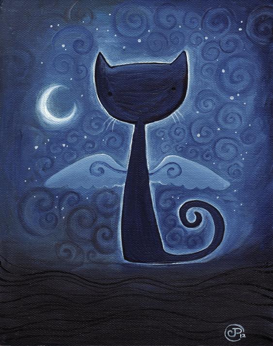 Midnight Cat by starwoodarts