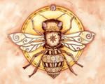 Honey Bee Mandala
