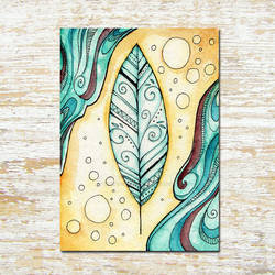 Feather ACEO