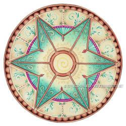 Healing Dawn Mandala