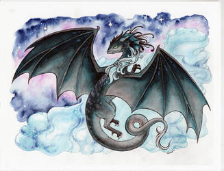 Sparkles the Dragon - Commission