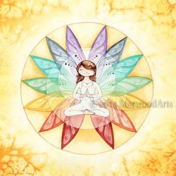 Namaste Chakra Fairy