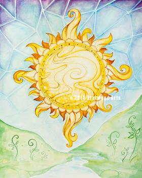Sun Rise Mandala