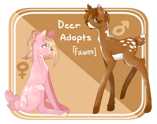 {MLP} Deer adopts: Fawns  drop 100 pt {CLOSED} by ZDoesWolfCraft
