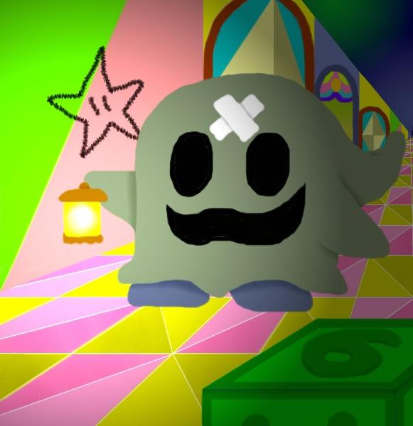 Paper Mario: Dork In The Dark by Redhead64