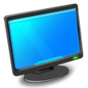 Monitor Icon by sword1ne