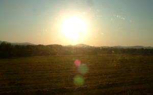 czech landscape by train by sword1ne