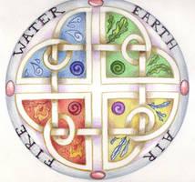 Elemental Knot by Spiralpathdesigns